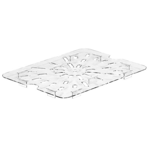 Drain shelf GN 1/1 polycarbonate