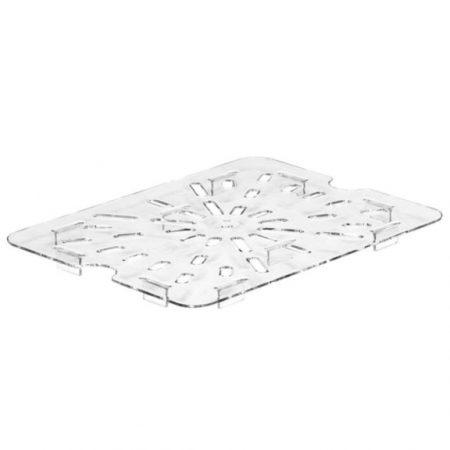 Drain shelf GN 1/2 polycarbonate