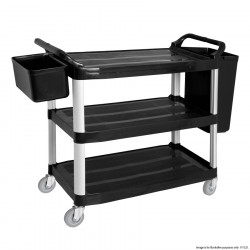 Trolley without bins UC340 Grey